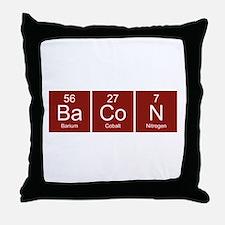 BaCoN Throw Pillow