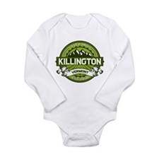 Killington Green Long Sleeve Infant Bodysuit