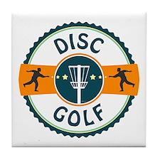 Disc Golf Tile Coaster