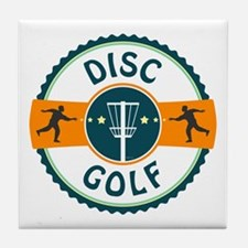 Disc Golf Tile Coaster