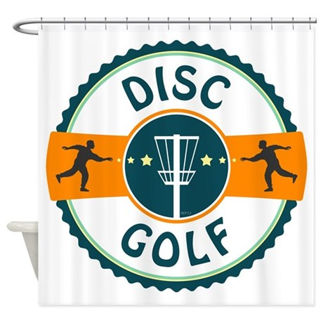 Disc Golf Shower Curtain