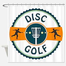 Disc Golf Shower Curtain