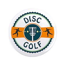 """Disc Golf 3.5"""" Button"""