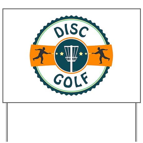 Disc Golf Yard Sign
