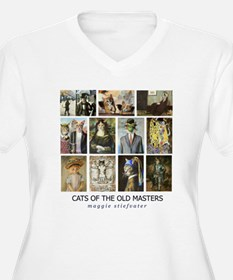 Cats of the Old Masters resized.jpg Plus Size T-Sh
