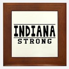 Indiana Strong Designs Framed Tile