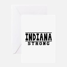 Indiana Strong Designs Greeting Card