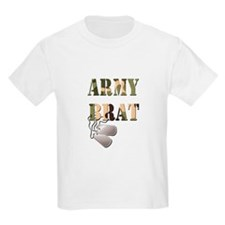 Army Brat Dog Tags T-Shirt