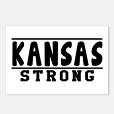 Kansas Strong Designs Postcards (Package of 8)