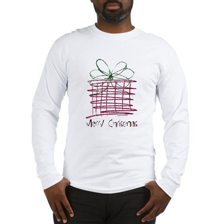 MERRY CHRISTMAS ART Long Sleeve T-Shirt