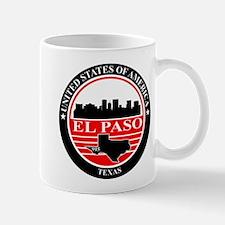 El paso logo black and red Mug