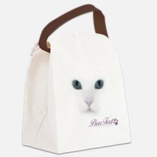 Purrfect Canvas Lunch Bag