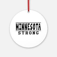 Minnesota Strong Designs Ornament (Round)