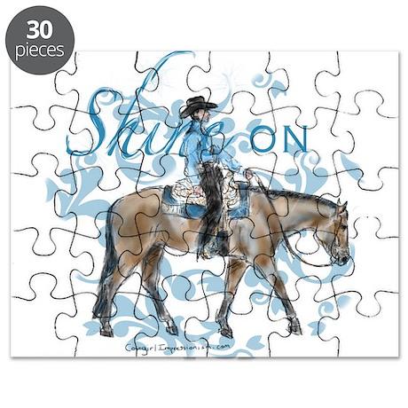Western Pleasure Shine On Puzzle