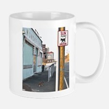 Cat Crossing Mug