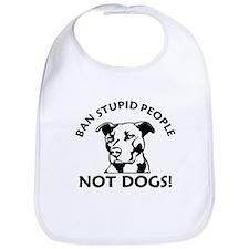 Ban Stupid People Bib