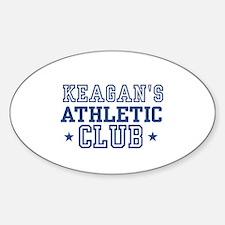 Keagan Oval Decal