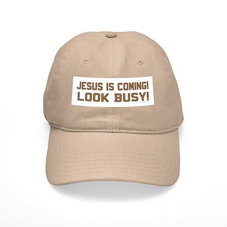 Jesus is coming! Look busy! Cap