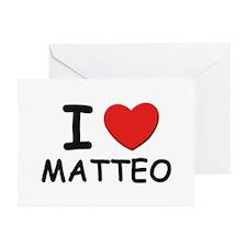 I love Matteo Greeting Cards (Pk of 10)