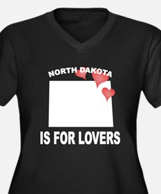 North Dakota Is For Lovers Plus Size T-Shirt