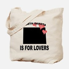 North Dakota Is For Lovers Tote Bag