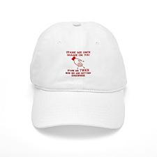 Spank Me Once…..Twice Baseball Cap