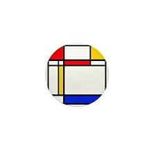 'Modern Art' Mini Button (10 pack)