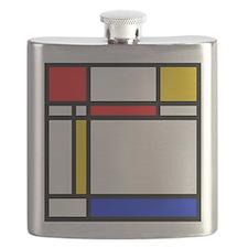 'Modern Art' Flask