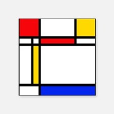 "'Modern Art' Square Sticker 3"" x 3"""