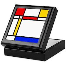 'Modern Art' Keepsake Box