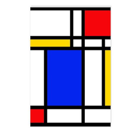 'Modern Art' Postcards (Package of 8)