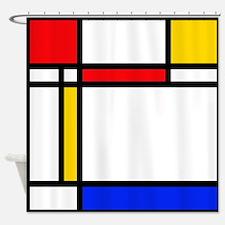 'Modern Art' Shower Curtain