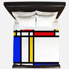'Modern Art' King Duvet