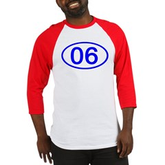 Number 06 Oval Baseball Jersey