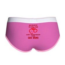 Remember The Safe Word Women's Boy Brief