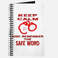 Remember The Safe Word Journal