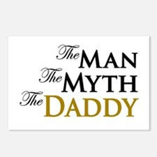 The Man The Myth The Daddy Postcards (Package of 8