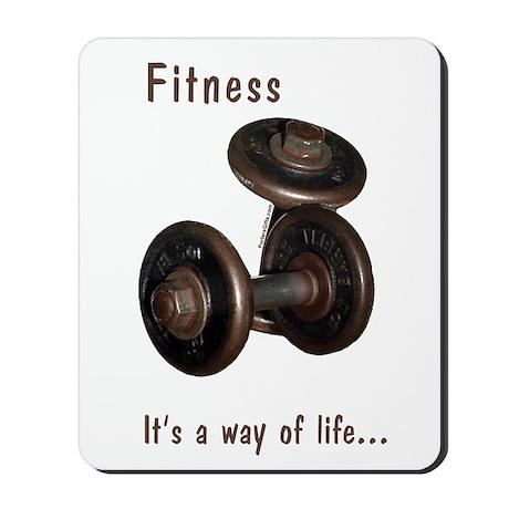 Fitness Mousepad - Life
