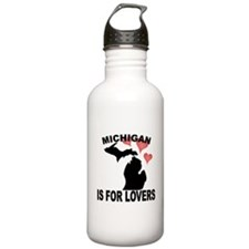 Michigan Is For Lovers Water Bottle