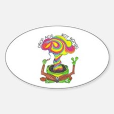 "Drop Acid Not Bombs 3"" Lapel Sticker (48 pk)"