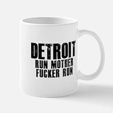 Detroit RUN Mug