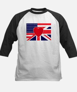 USA & UK Love Kids Baseball Jersey