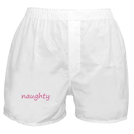 naughty pink Boxer Shorts