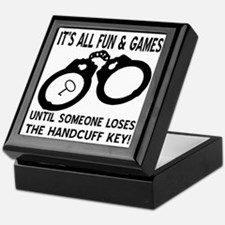 Loses The Handcuff Key Keepsake Box