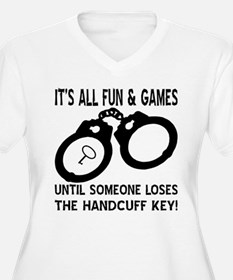 Loses The Handcuff Key T-Shirt