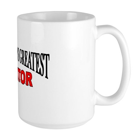 """The World's Greatest Mentor"" Large Mug"