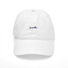 Blue Marlin Logo Baseball Baseball Cap