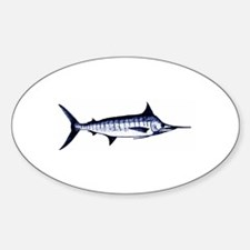 Blue Marlin Logo Decal