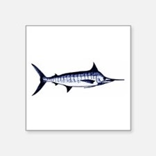 Blue Marlin Logo Sticker