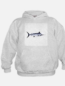 Blue Marlin Logo Hoodie